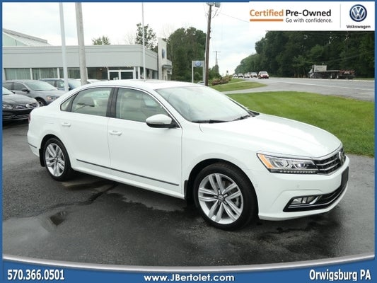 2017 volkswagen passat 1 8t sel premium orwigsburg pa area volkswagen dealer serving orwigsburg pa new and used volkswagen dealership serving reading harrisburg allentown pa j bertolet volkswagen